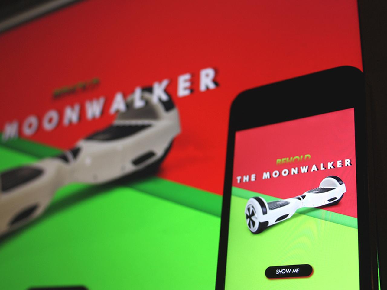 moonwalker landing page