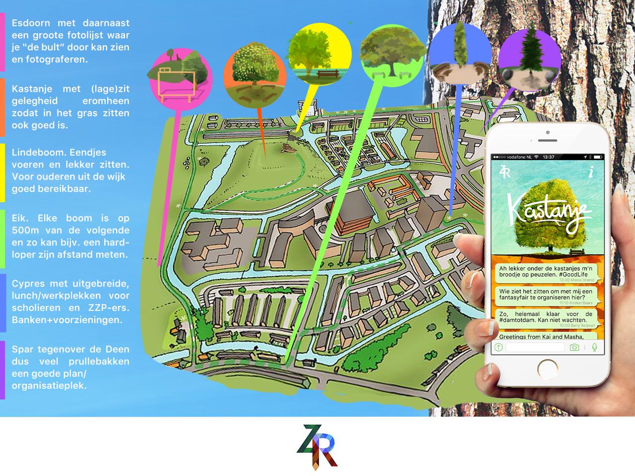 zaanroots app concept